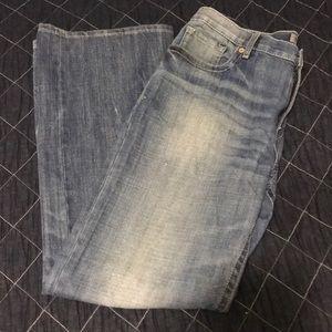 BKE men's jeans boot cut